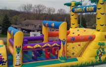 Inflatables: 47 foot foot Jungle Run
