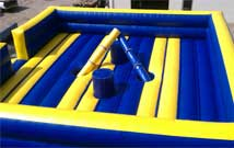 Inflatables: Two or Four man Joust