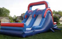Inflatables: 18 foot Wet Slide
