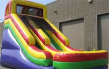 Inflatables: 20 foot Dry Slide